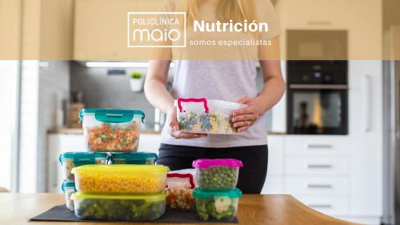 Planifica tus comidas. Organizarás tu semana y tu nutrición.
